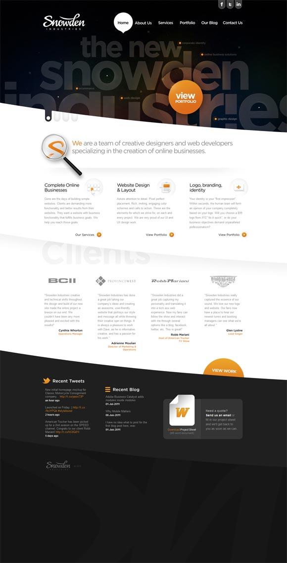 Snowden Industries | Design
