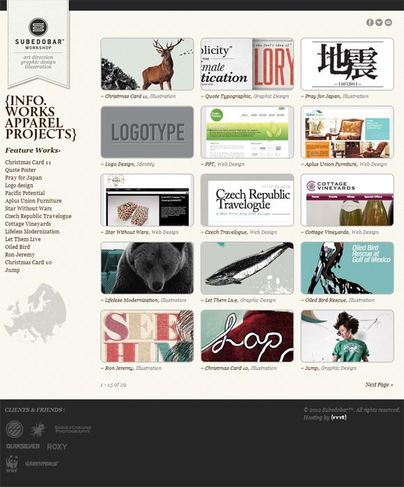 Subedobar | Design