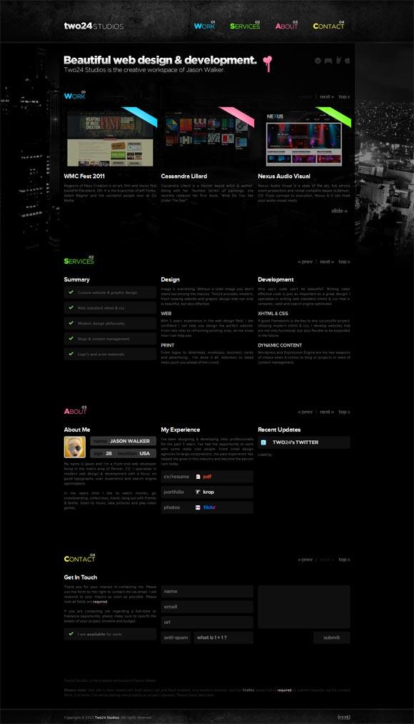 Two24 Studios | Web Design