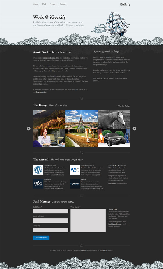 Work I Geekify | Web Design