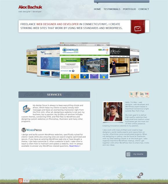 Alex  Bachuk | Web Designer