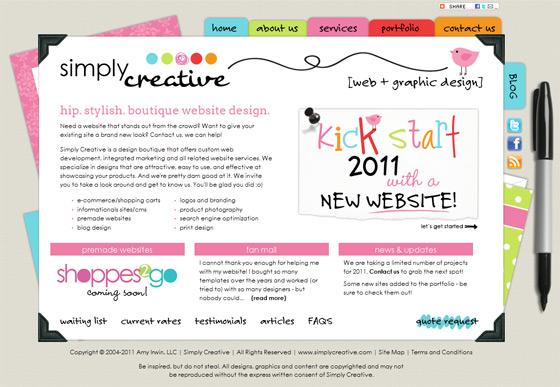 Simply Creative | Web Design