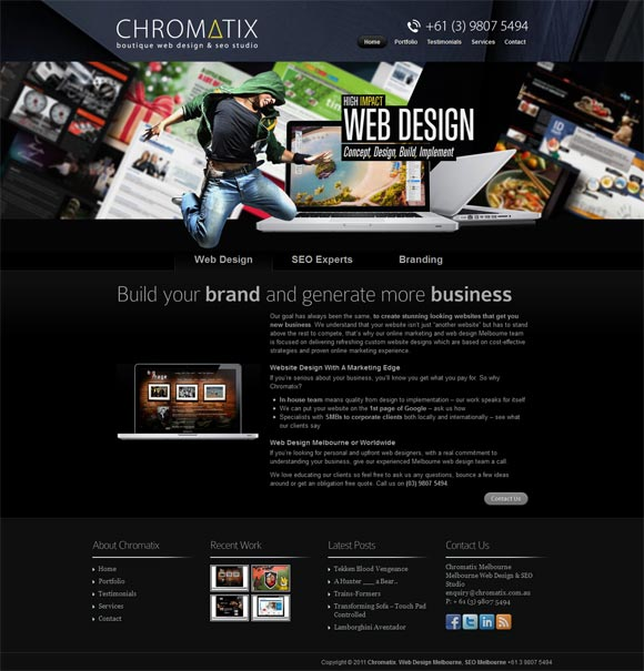 Chromatix | Web Design