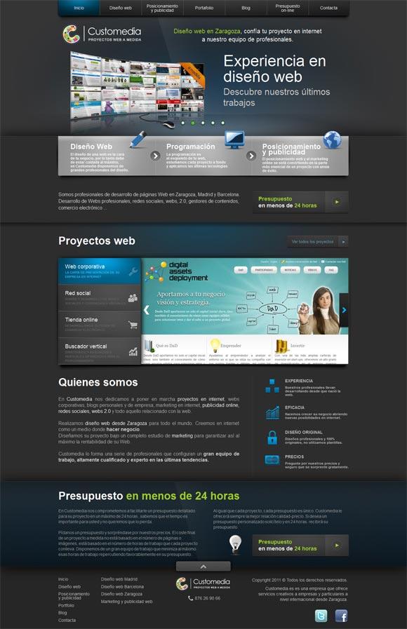 Customedia | Web Design