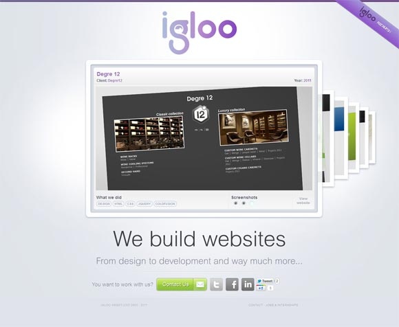Igloo | Web Design
