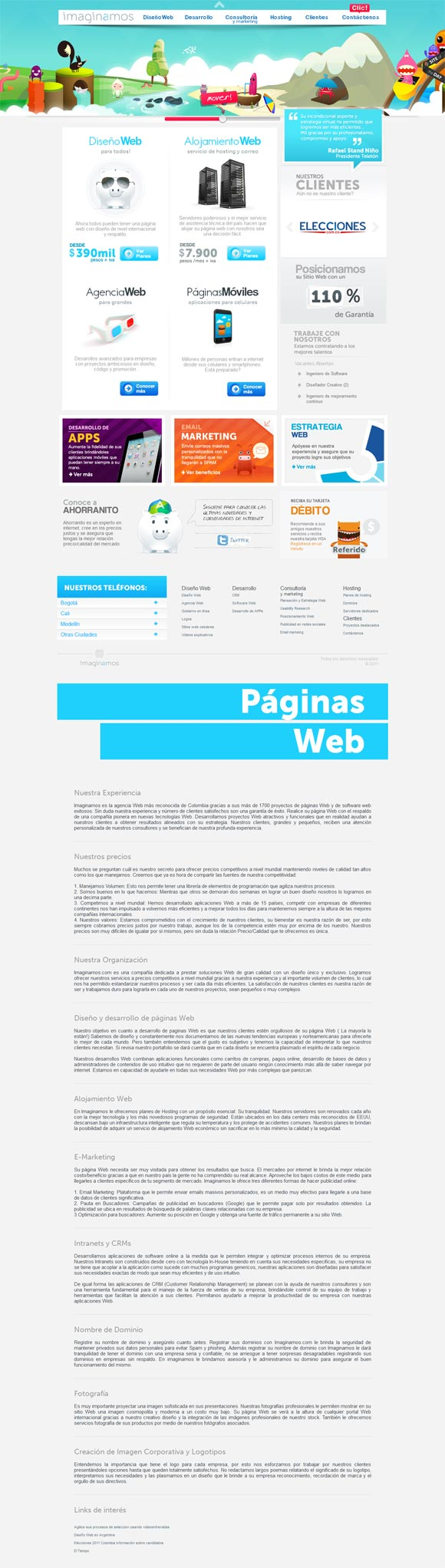 Imaginamos | Web Design