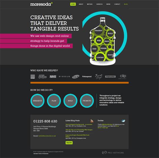 Moresoda | Web Design
