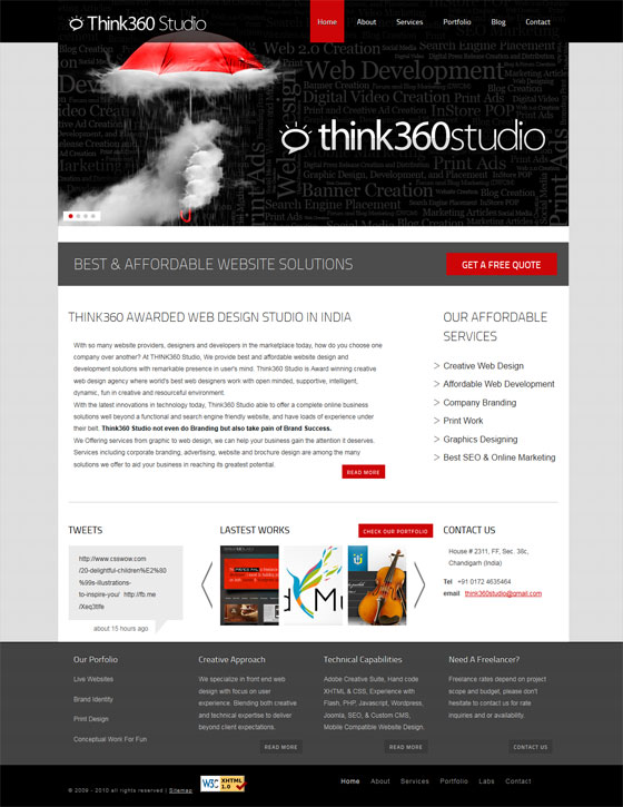 Think 360 Studio | Web Design