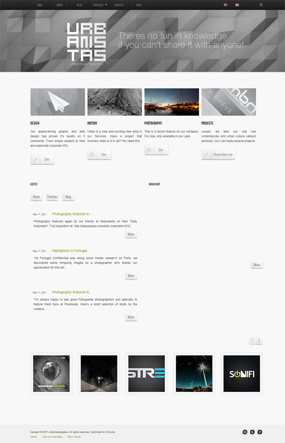 Urbanistas | Creative Agency